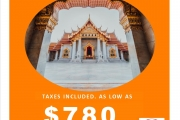 Bangkok Sale via Japan Airline
